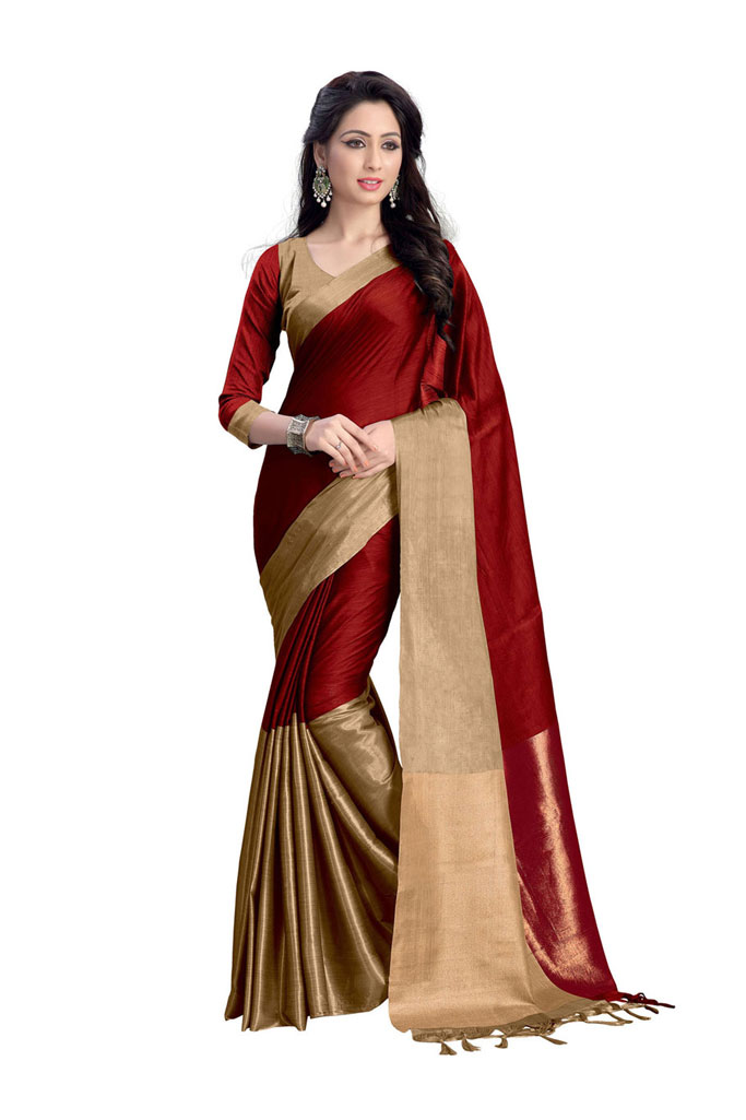 Arzu Latest New Collection Pure Cotton Saree Exporter