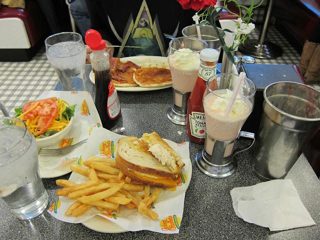 Johnny Rockets diner på Manhattan