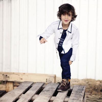jongen kleding petje bretels