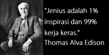 Kata Bijak Thomas Alva Edison
