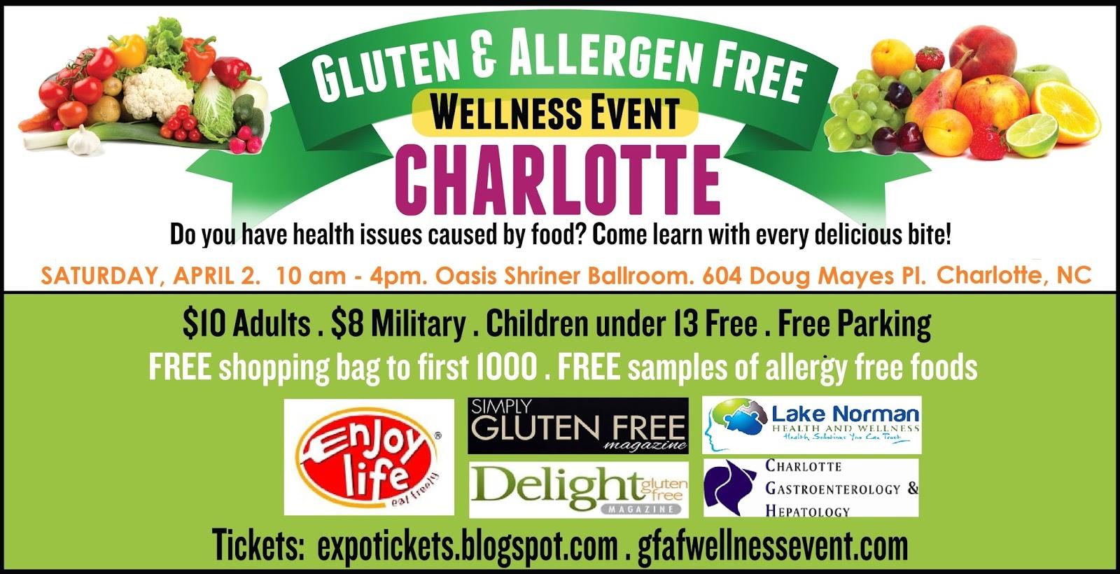 meghan varner gluten and allergen free wellness event charlotte nc edition. Black Bedroom Furniture Sets. Home Design Ideas