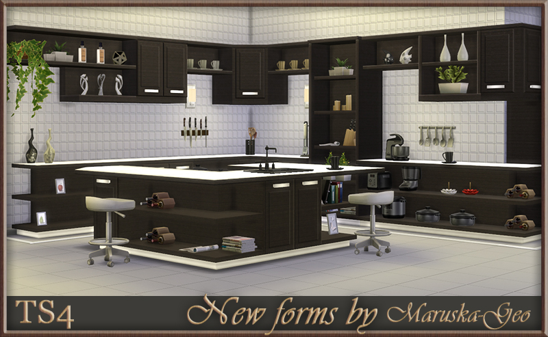replacement kitchen cabinets vintage appliance my sims 4 blog: new forms by maruskageo