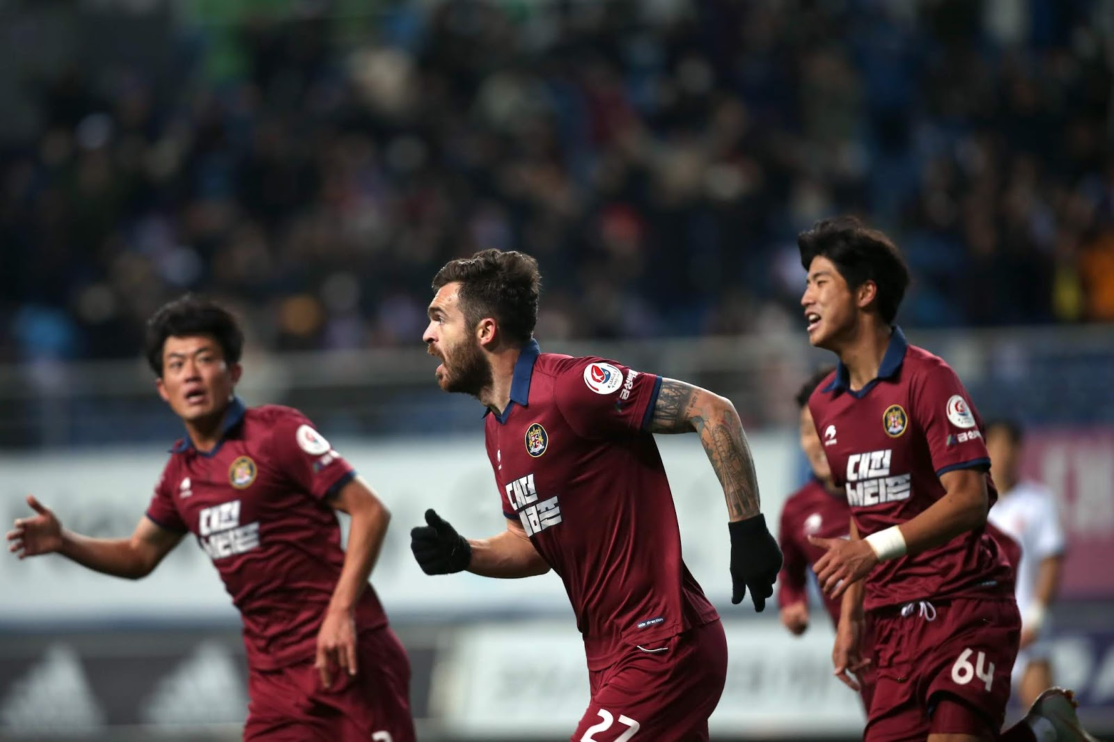 2019 Daejeon Citizen Squad Numbers