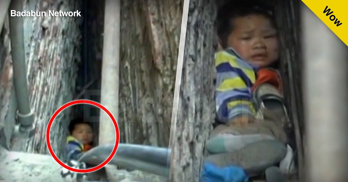 historia drama rescate niño atrapado China
