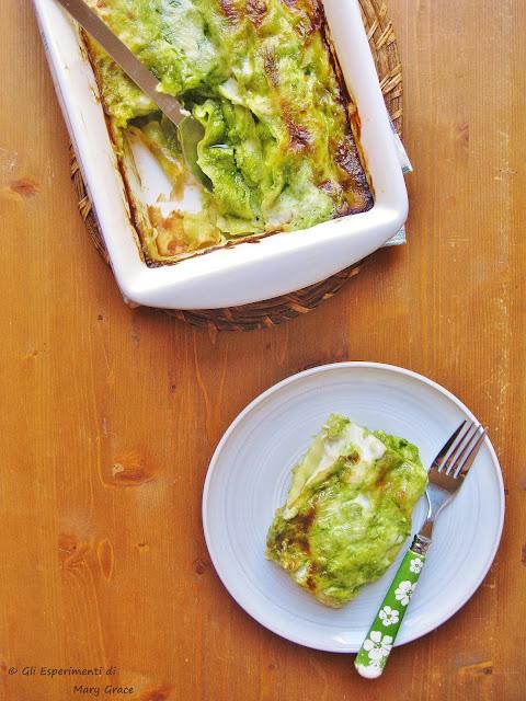Lasagne al Pesto al Forno