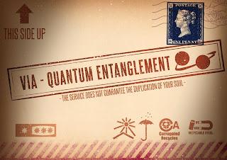 via - quantum entanglement science fiction humorous funny