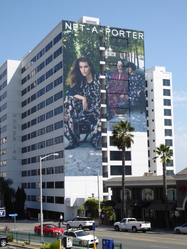 Giant Net A Porter FW17 billboard