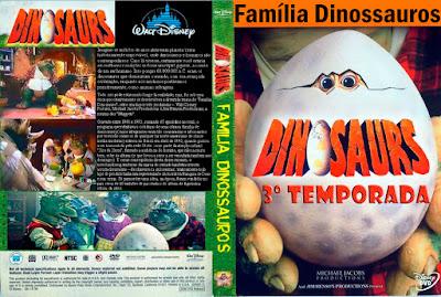 Seriado Família Dinossauros 3º Temporada DVD