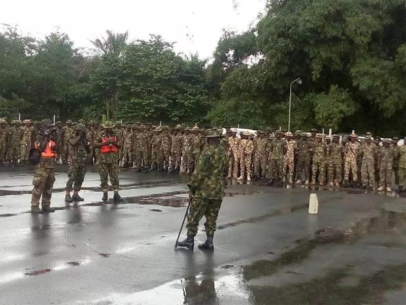 "Photos: Nigerian Army begins ""Crocodile Smile"" training in Niger Delta"