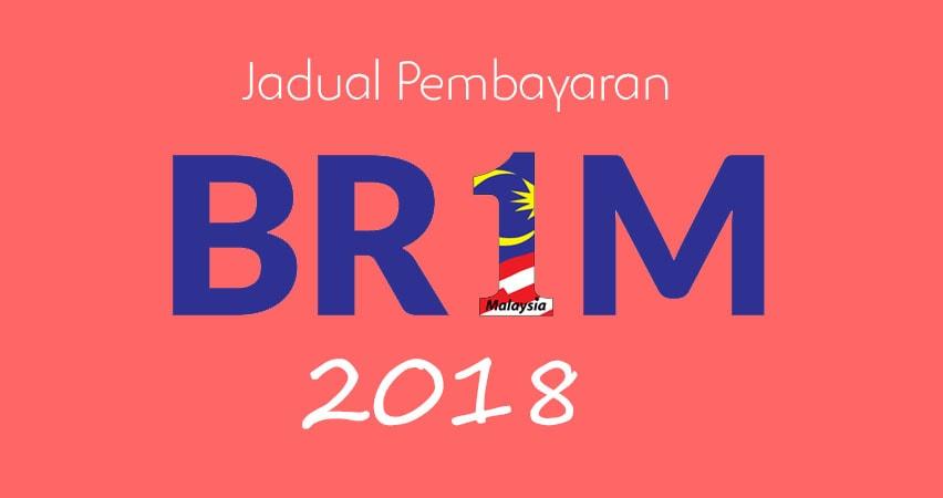 jadual tarikh pembayaran br1m 2018
