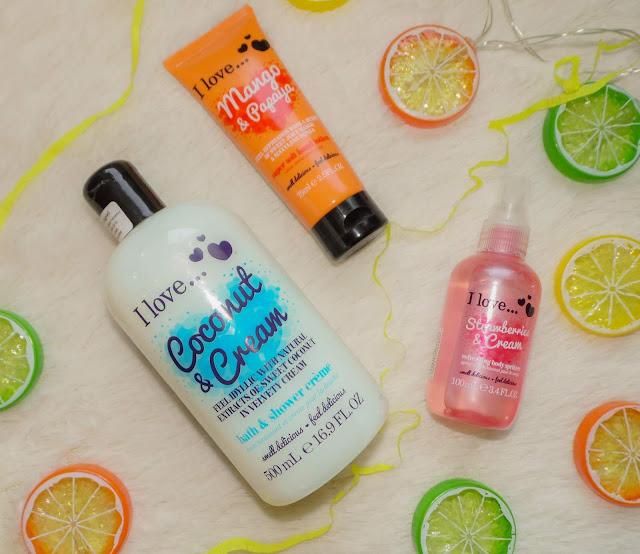 I Love Cosmetics - szaleństwo zapachów w trzech kosmetykach