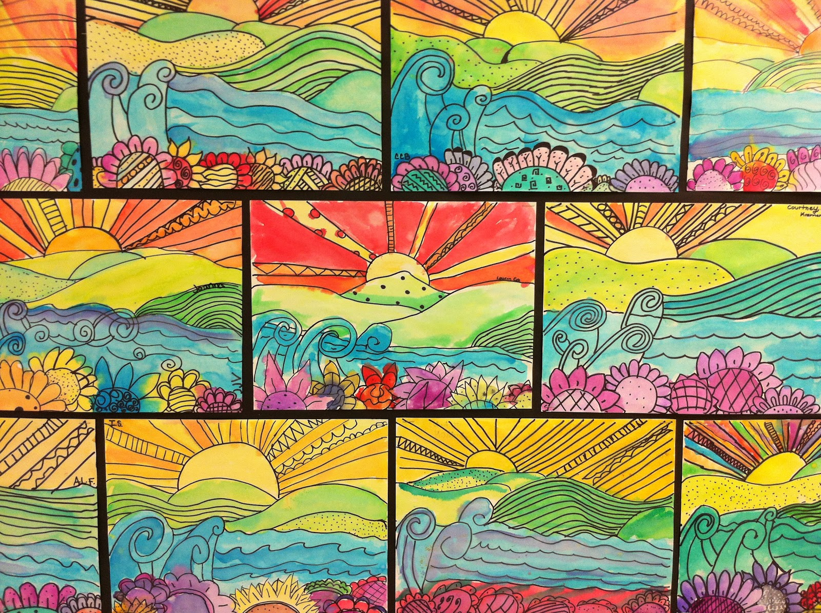Apex Elementary Art: Whimsical Landscapes