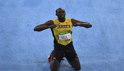 Usain Bolt wins Third Straight 200m Olympic Title and Gets Gold at Rio