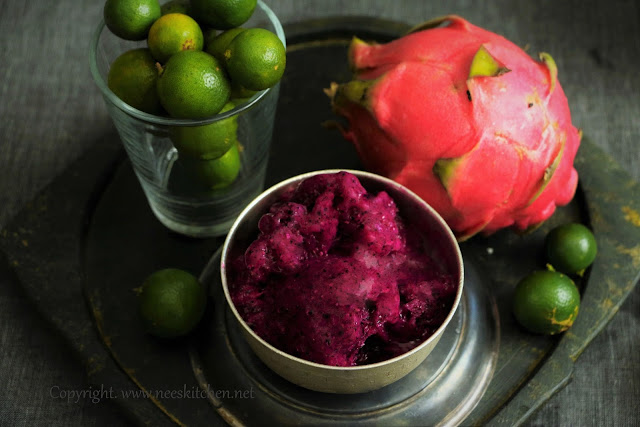 Dragon Fruit Sorbet
