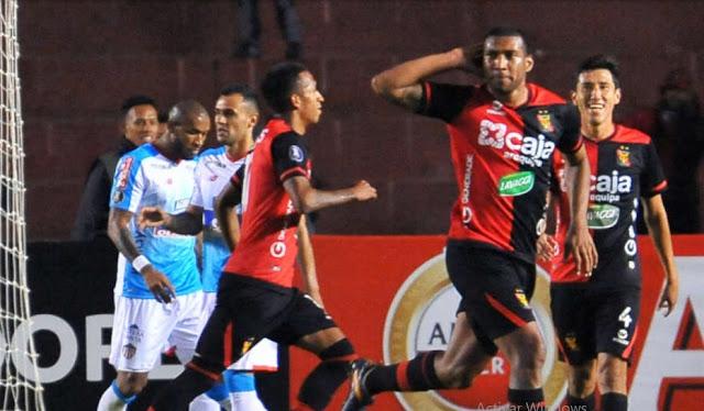 Melgar derrotó 1 a 0 a Junior de Barranquilla en la tercera fecha de la Copa CONMEBOL Libertadores.
