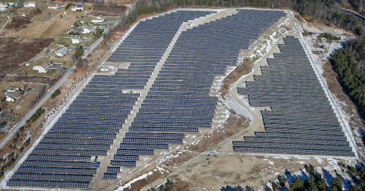 Modeling the 6 MW solar farm at the Palmer Metropolitan Airfield in Massachusetts
