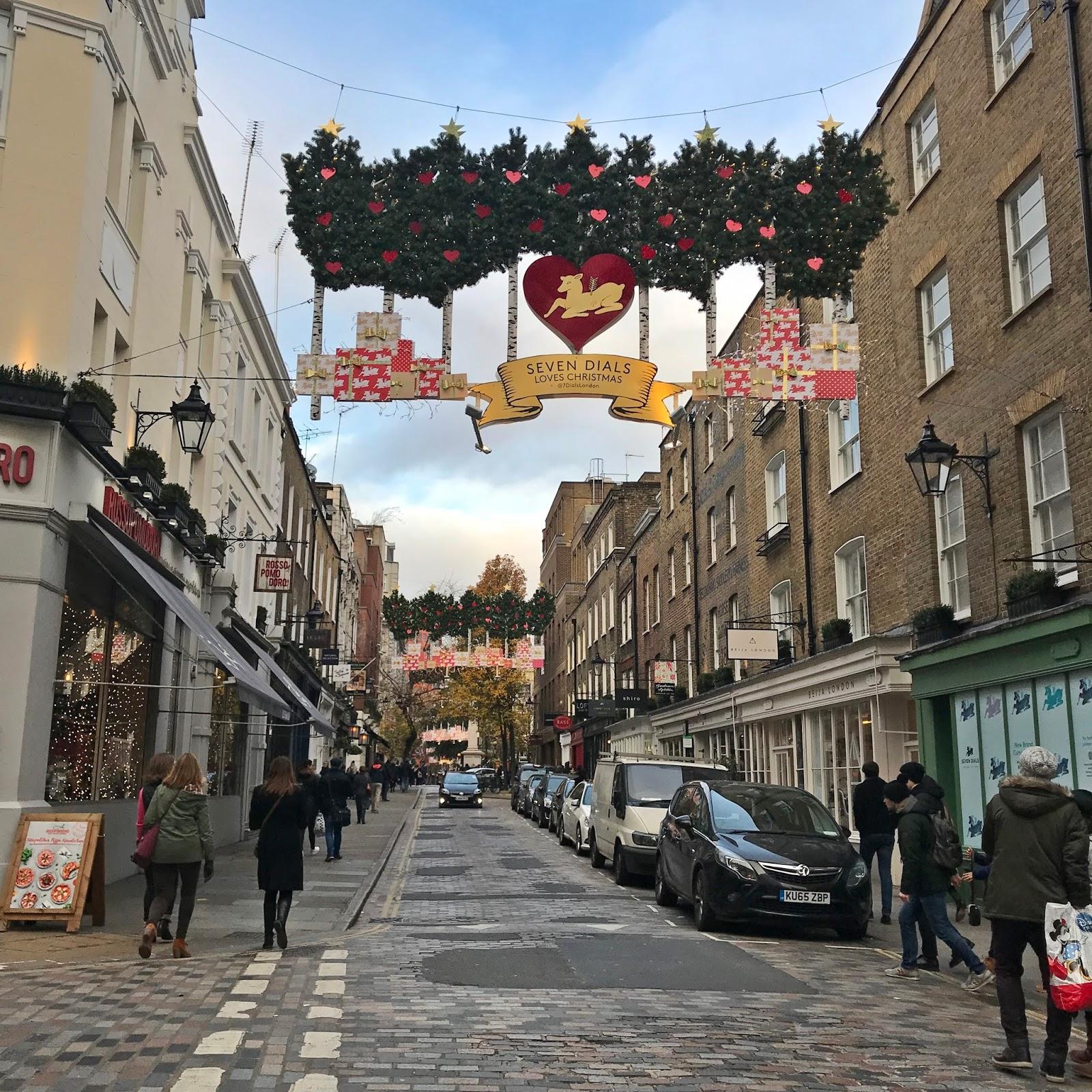 dekoracje zima londyn 2017