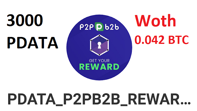 Get Up to 3000 PDATA Worth 0.04 BTC