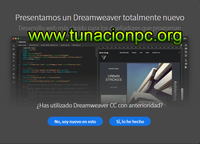 Dreamweaver CC 2018 Portable