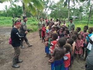 Kampung Nggolar Merupakan Kampung Paling Terisolir di Merauke, Ini Kata Mayor Inf Agus Rediyanto