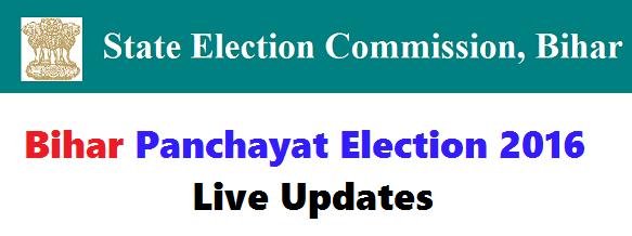 Bihar Panchayat Election 2016