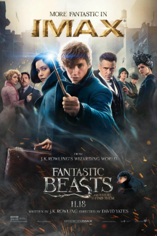 Fantastic Beasts and Where to Find Them [2016] [Latino 5.1] [DVDR] [NTSC] [Custom BD]