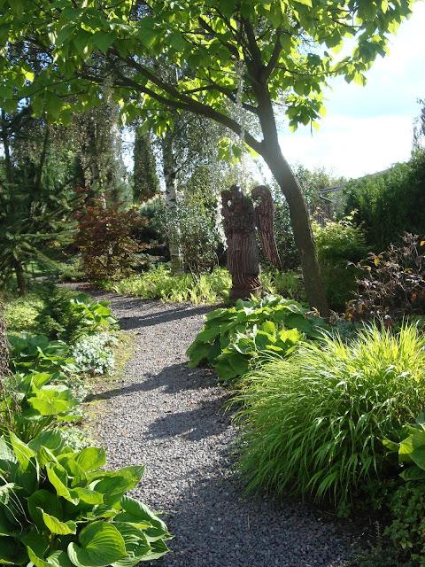 ścieżka ogród pokazowy Ryki
