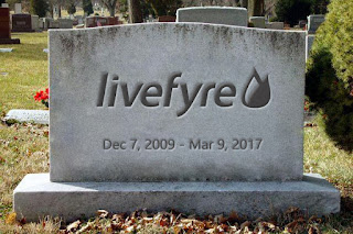 Livefyre RIP