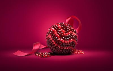 Romã a fruta da sorte, da saúde e da beleza