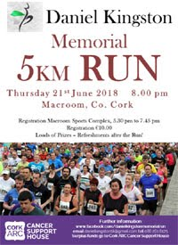5k in Macroom...Thurs 21st June