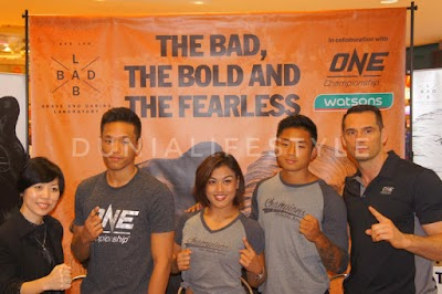 Fight Ready Session to Introduce Bad Lab's Pomade and Hair Cream with One Championship Athletes
