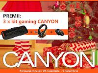 Castiga 3 kit-uri de gaming Canyon