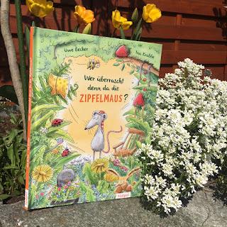 """""""Wer überrascht denn da die Zipfelmaus?"""" Bilderbuch von Uwe Becker, Illustrationen von Ina Krabbe, Südpol Verlag, Rezension auf Kinderbuchblog Familienbücherei"""