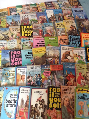 Large collection of vintage Ladybird books