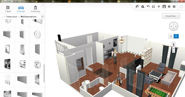 Software Desain Rumah - HomeByMe