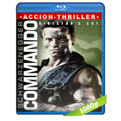Comando (1985) BRRip Full 1080p Audio Trial Latino-Castellano-Ingles 5.1