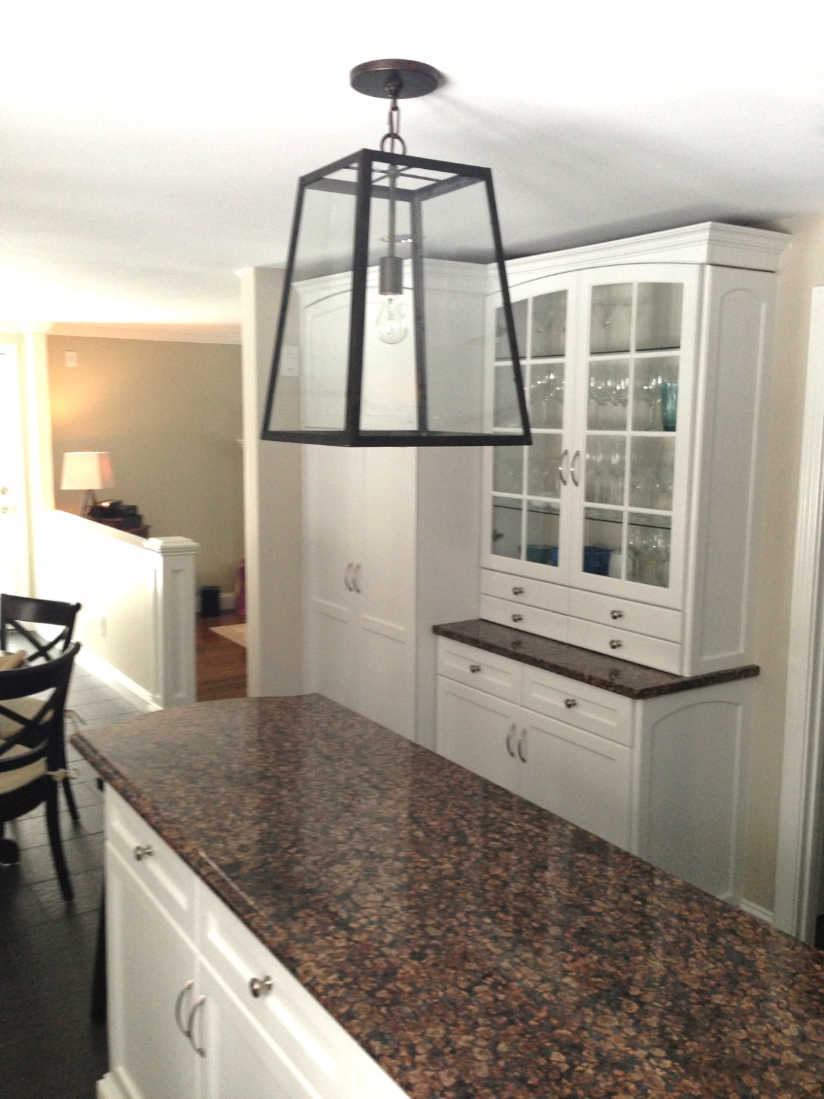 kitchen table light fixtures island chairs home with baxter shelves and fixture