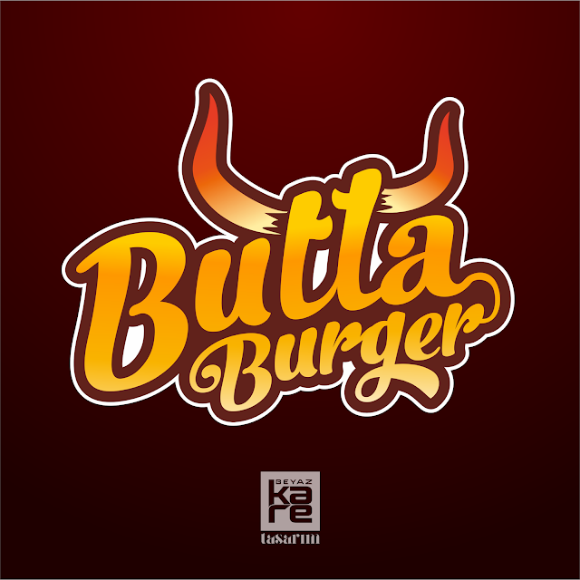 Logo tasarım burger hamburger