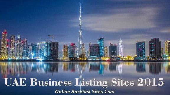 UAE Business Listing Sites List