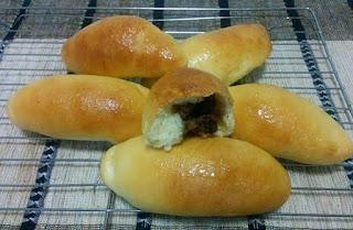 Roti variasi roti abon