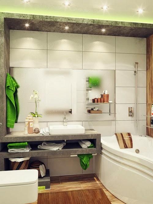 15+ Kumpulan Desain Kamar Mandi untuk Rumah Minimalis ...