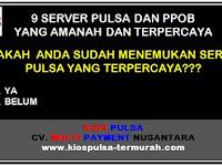 9 Server Pulsa dan PPOB Terpercaya