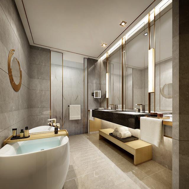 Phòng tắm căn hộ dự án Swisstouches La Luna Nha Trang