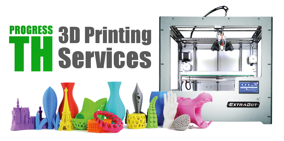 progressth: 3d printing services and workshops