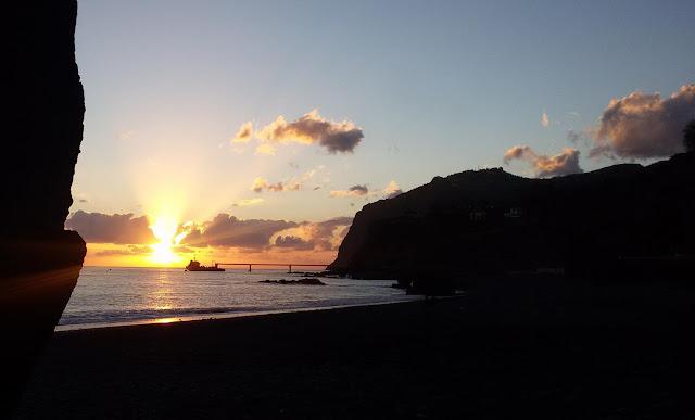 sunset in Praia Formosa