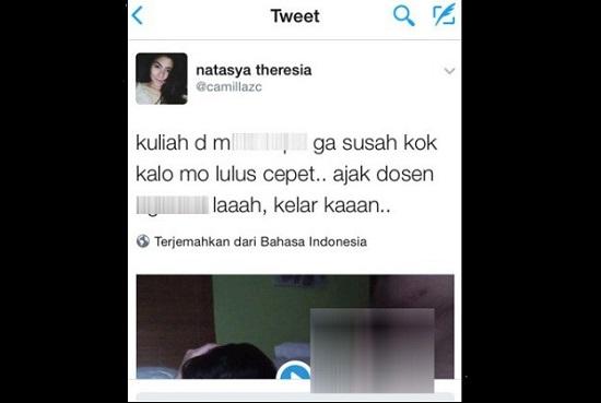 Video Mesum Mahasiswi dan Dosen Kampus Jakarta Bikin Heboh Netizen