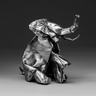 The 10 Best Album Cover Artworks of 2017: 02. Jlin - Black Origami