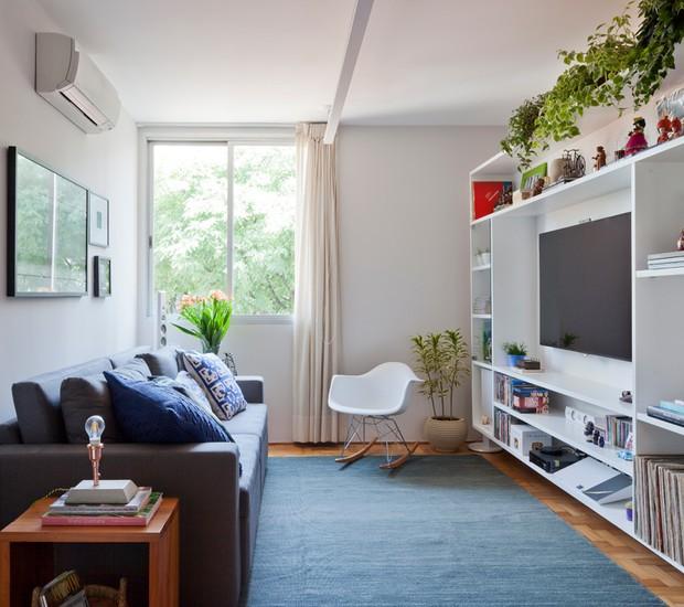 ►decoração de apartamento pequeno: ambientes integrados, cores e plantas, pontuam...verifica