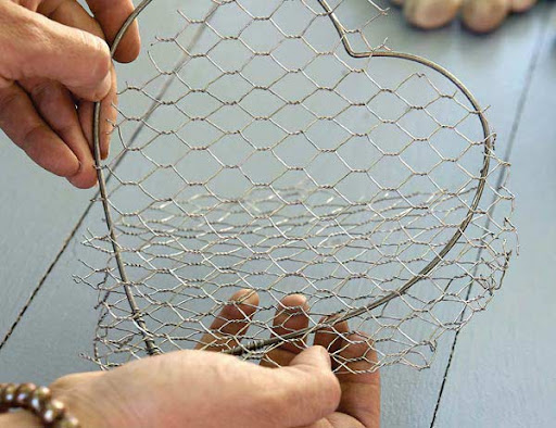 chicken wire basket