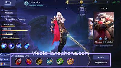 Build Lancelot Mobile Legends